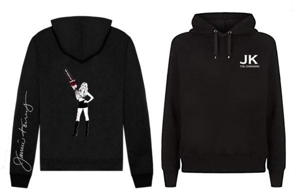 jamie kennedy chainsaw hoodie